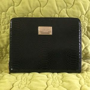 Authentic Michael Kors Leather Python iPad Case